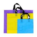 Blank 2.5 Mil Colorful Plastic Handle Bags, 19