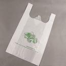 Custom 0.9 mil Plastic T-Shirt Bag, 12