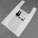 Custom Plastic T-Shirt Bag, 8