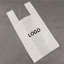 Custom Plastic T-Shirt Bag, 10