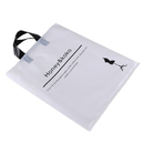 Promotional Plastic Bag with Soft Loop Handles, 2.5 Mil, 10
