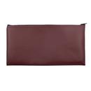 Blank Vinyl Leatherette Zipper cash bag, company security bank deposit, 11