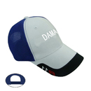 Blank New Design 6-Panel Mesh Cap with Trim