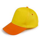Opromo Kids Two Tone Curved Bill Baseball Cap Youth Adjustable Velcro Strap Sport Hat