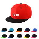 Custom Two-Tone Flat Bill Snapback Hat - Baseball Cap Adjustable, Long Leadtime