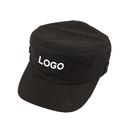 Custom Kids Plain Army Military Cadet Style Cotton Army Cap Hat , Long Leadtime