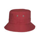 Opromo Cotton Twill Bucket Hat with 2 Ventilation Side Holes - 6 Colors