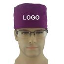 Custom Unisex Scrub Cap with adjustable tie Nurse's Doctor Surgical Hat