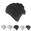 Opromo Trendy Oversized Chunky Thick Soft Warm Cable Knit Slouchy Beanie Ski Cap