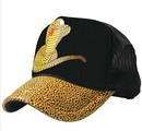 Personalized Golden Snake Foam Trucker Cap