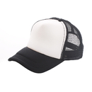 Blank Two Tone Mesh Curve Bill Trucker Cap, Adjustable Snapback, Comes in Different Colors
