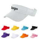 Custom Men Women Sports Golf Sun Visor Adjustable Velcro Cap Hat, Long Leadtime