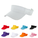 Opromo Plain Solid Men Women Sport Golf Sun Visor Adjustable Velcro Cap Hat