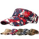 Opromo Summer Plain Men Women Sport Sun Visor Adjustable Cap Military Camo Visors