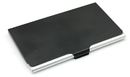 Custom Metal Black Business Card Holder, 3-3/4