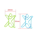 (Price/10 Paper Clips) Custom Shaped Paper Clips, Blank, 1
