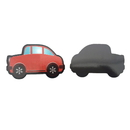 Blank Red Car Flexible Magnet, 4