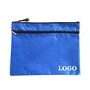 Custom Double Zip Lock 2-Pocket Wallet-Style Document Folder, 10