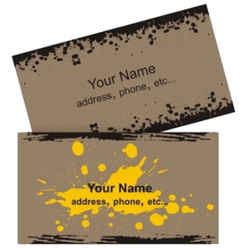 Custom Business Cards, 4-Color Printing, One Side Printed, No lamination, 100 Per Box, Price/100 Pieces