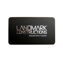 Custom Business Cards with Foil Stamping on One Side, 4-Color Printing, 100 Per Box