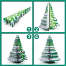 Custom Christmas Tree Shape Memo Pads, Promotional Christmas Tree Notes Pads