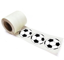 "Soccer Sticker, 250pcs per Roll, 2""Dia - In Stock"