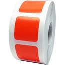 Removable Color Coding Labels, 1000pcs per Roll, 0.75 Inch - Square