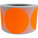"Removable Color Coding Dot Labels, 500pcs per Roll, 3""Dia"
