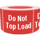 DO NOT TOP LOAD Shipping Label - 2 x 4 Inch, 500/Roll