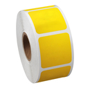 "Square Removable Color Coding Labels, 500pcs per Roll, 2""Dia"