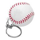 Customized Baseball Sports Stress Ball Key Chain, 1 3/5