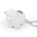 Customized Sheep Key Chain Stress Ball
