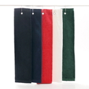 "Medium Weight 100% Cotton Hemmed Tri Fold Golf Towel, 16""*25"""