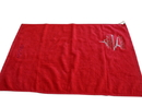 Personalized Midweight Hemmed Unfolded Golf Towel with Hook, 100% Cotton, Long Leadtime