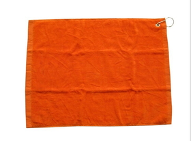 "Blank 100% Cotton Unfolded Golf Towel with Hook, 16""*25"", Price/piece"