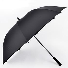 "Blank Non-folding 190T Polyester Semi-automatic Golf Umbrella, 60"" Open Arc, Price/Piece"