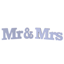 Aspire Mr & Mrs Wooden Letters for Wedding Photo Props Party Banner Decoration