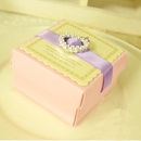 "Blank Wedding Pink Gift Box, 2.56""L*2.56""W*1.58""H"