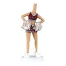 Custom Bobbleheads - Woman in Cheerleading Skirt, Approx. 7