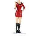 Custom Bobbleheads - Woman in Tight Red Skirt and Black Boots, Approx. 7