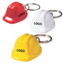 Custom Mini Hard Hat Keychain, Silk Screen