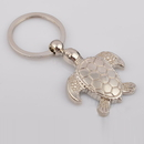 Custom Mini Sea Turtle Metal Key Chain, Laser Engraved