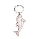 Blank Metal Dolphin Shaped Key Chain