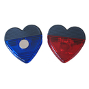 Blank Heart Shaped Magnetic Memo Clip, 2 3/4