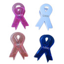 Custom Awareness Ribbon Magnetic Memo Clip, 3