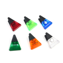 Custom Triangle-Shaped Magnetic Memo Clamp, 3
