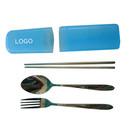 Custom 3-Piece Dinnerware Set with Plastic Case, 8