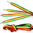 Custom Imprinted Double Shoelace, Polyester Material