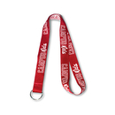Custom Double Layered Woven-in Lanyard with Logo, 5/8