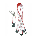 Blank Double Layer Lanyards With Release Breakaway, 3/4